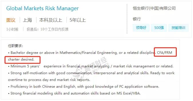 国际银行招聘信息